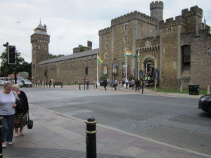 Cardiff's historic castle, where Victorians and Normans built on Roman foundations.