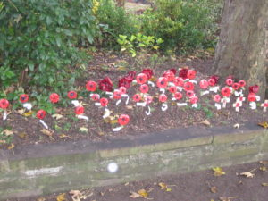 Poppies of Remembrance. The Black Death was far more devastating than the Great War.